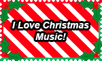 I Love Christmas Music Stamp by DarkwingFan