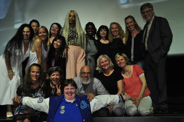 Me with the cast of Degrassi!!! by DarkwingFan