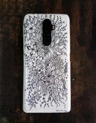 Floral Doodle by 7anbuKakashi