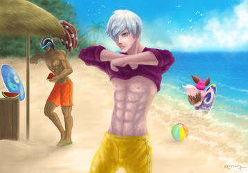 Beach Partaaay!!! by 7anbuKakashi