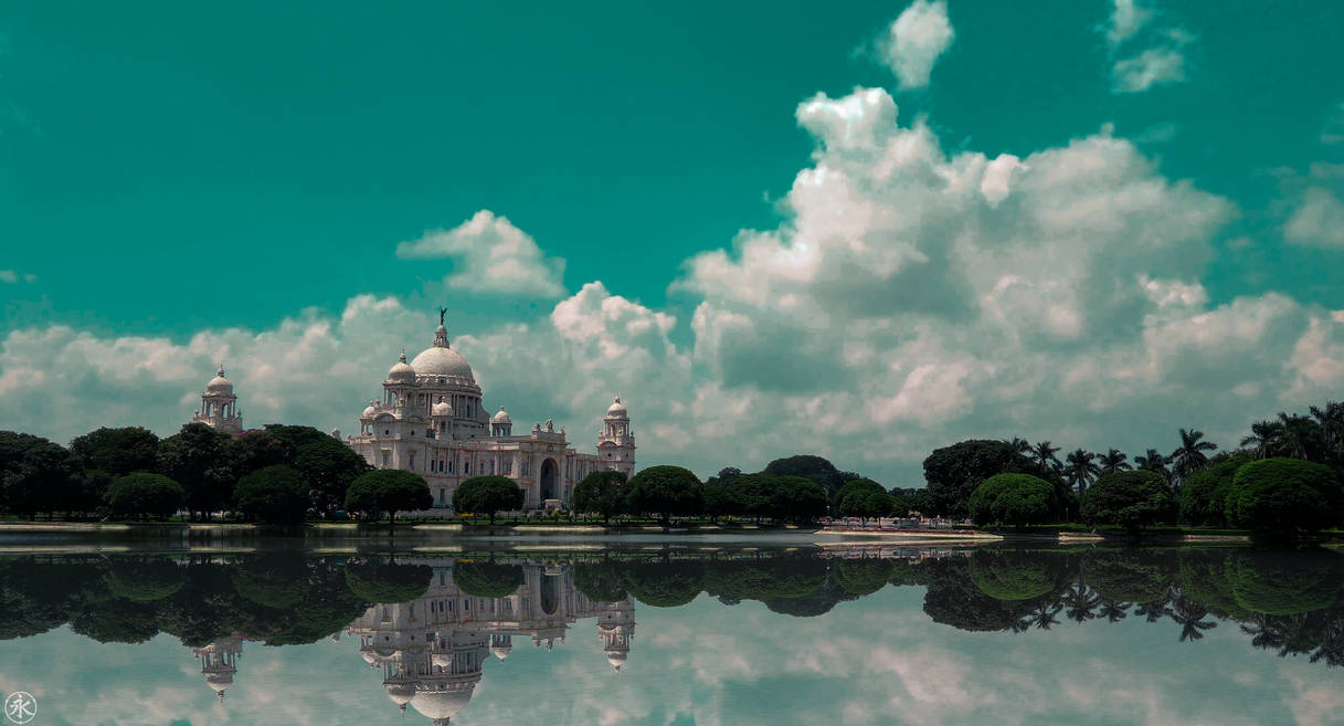 || Victoria Memorial || by 7anbuKakashi