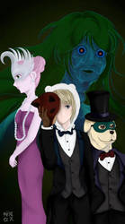 Adventure Time - the creeps by sakurakaama