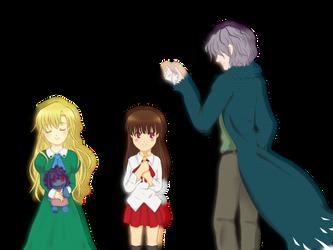 Ib trio by sakurakaama
