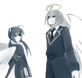 [The Gray Garden] eyepatch duo by sakurakaama