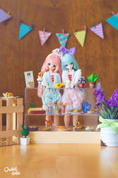 Azone . Cafe by OrchidDolls