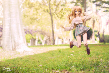 Jump! . Coco by OrchidDolls
