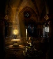 Loretta - guardian of Roshan by AnnAquamarine