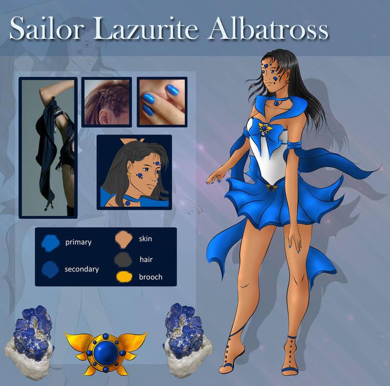 Sailor Lazurite Albatross - reference by AnnAquamarine