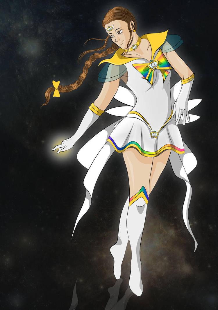 SS: Sailor Gold Star by AnnAquamarine