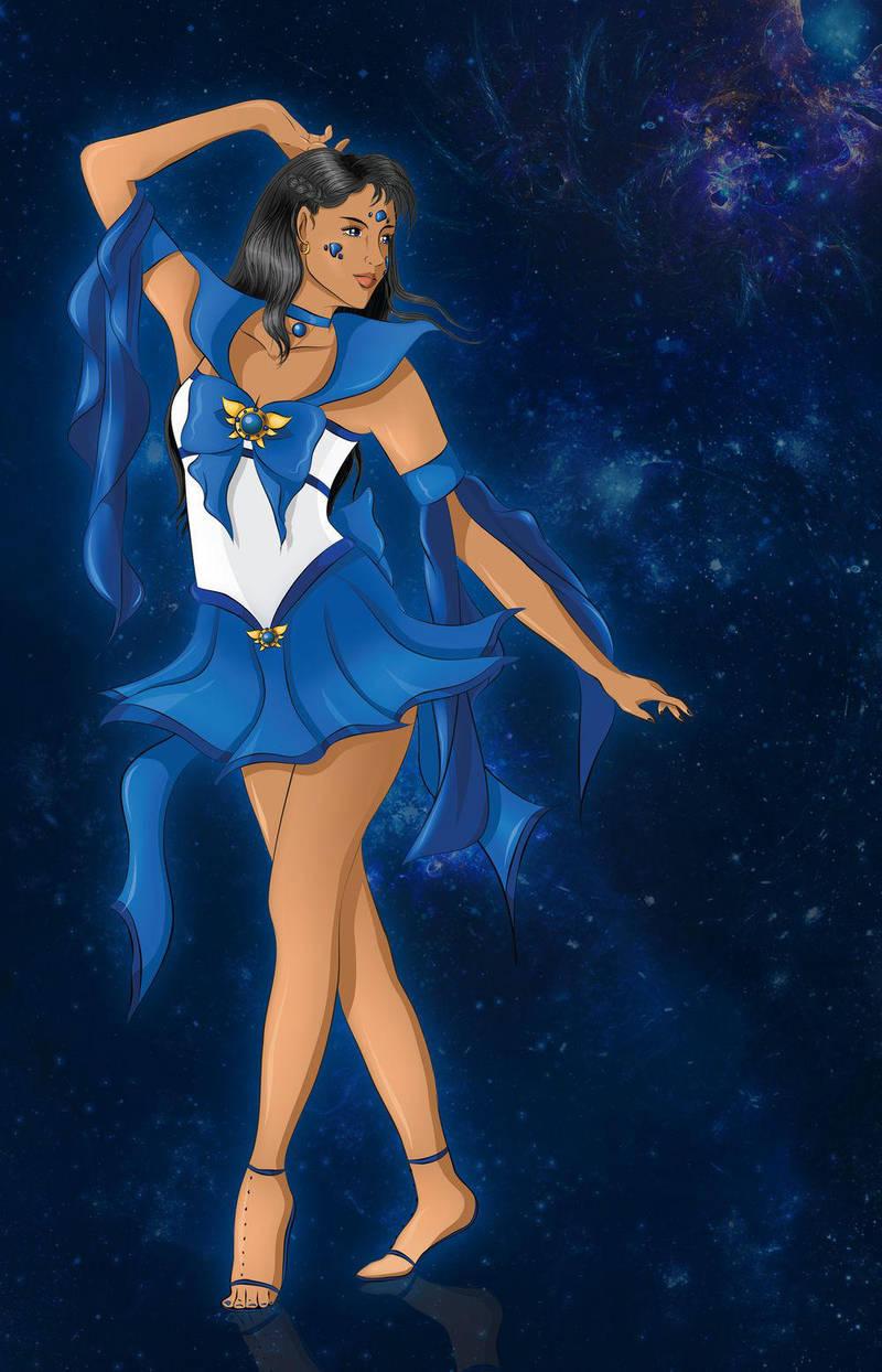 Sailor Lazurite Albatross - henshin pose - quest 2 by AnnAquamarine
