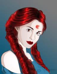 Sailor Kappa Centauri by AnnAquamarine