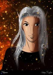 Aerdine Frostfire by AnnAquamarine