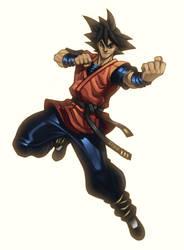 Goku by glubglubz