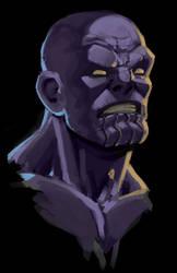 Thanos Speedpaint by glubglubz