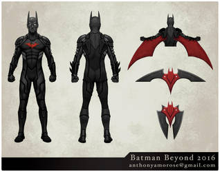 Batman Beyond by glubglubz