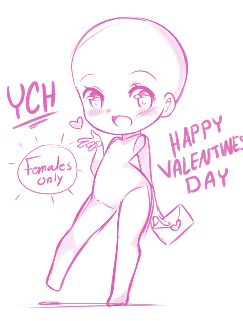 Closed 15 Valentines Day Ych By Ina A On Deviantart
