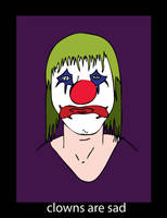 Sad Clown by MagicSteve
