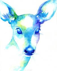 Rain-Deer by bummblebird