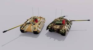 Kampfpanzer 50 Ausf.C Medium Tank by TheoComm