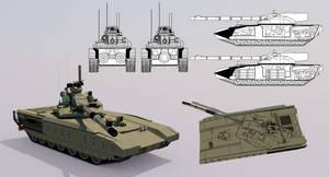 HS-81 Main Battle Tank by TheoComm