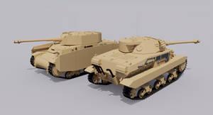 Carro Armato M36/43 Medium Tank by TheoComm