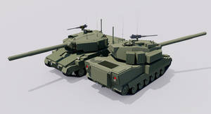 120mm Armored Gun System M15A by TheoComm