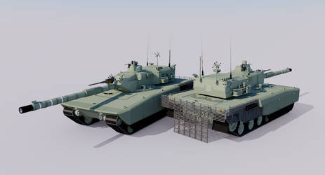 Karlmann Serie XVII Main Battle Tank by TheoComm