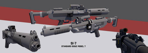 [StarWars] Standard Issue Model 7 by TheoComm