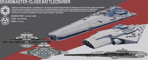 [StarWars] Grandmaster-class Battlecruiser by TheoComm