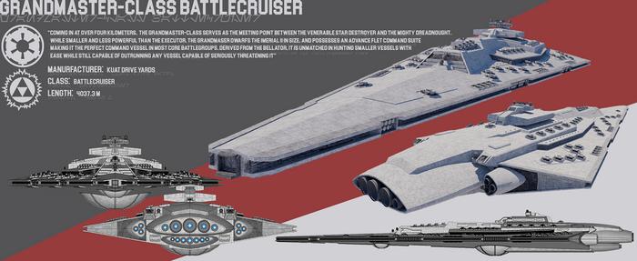 [StarWars] Grandmaster-class Battlecruiser by TheoComm