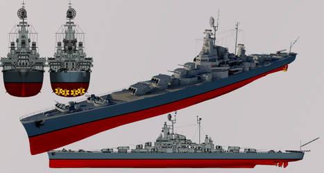 Prodigy-class Light Cruiser by TheoComm