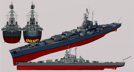 Magnificent-class Heavy Cruiser by TheoComm