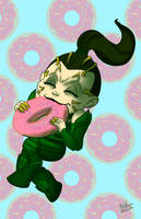 Rita in donut heaven by NoDiceMike