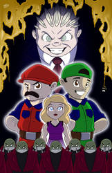 Super Mario Bros: The Movie 25th Anniversary by NoDiceMike