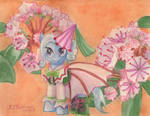 MLP Flowers of Harmony- Trixie Lulamoon- Ambition by kelseyleah