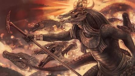 The Army Of Sobek by Gunhercanelo