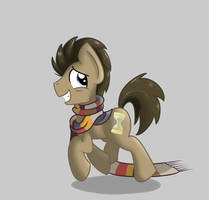 ALLONS-Y! Dr Whooves by TehShockwave