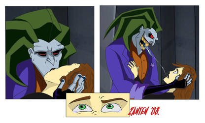 Joker and Xack kiss by Zanten