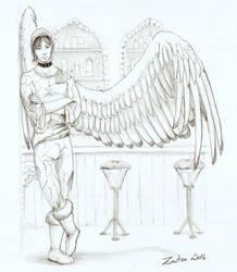 Deriv in a bar - commission by Zanten