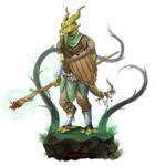 Kalameet, the dragonborn by Zanten