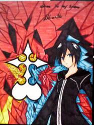 Kingdom Hearts Xion by MysticAngelSwordsman