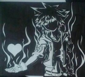 Anti Sora by MysticAngelSwordsman
