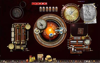 Steampunk Desktop MkII by yereverluvinuncleber