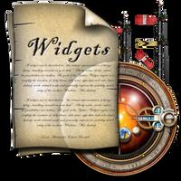 Steampunk Calendar Widgets Folder  Document Icon by yereverluvinuncleber