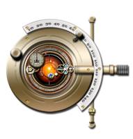 Steampunk Phopteron Orrery Icon by yereverluvinuncleber