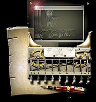 Steampunk Calculator Icon by yereverluvinuncleber