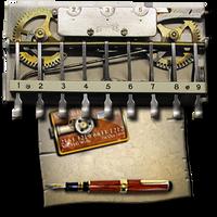 Steampunk Calculator Icon MkII by yereverluvinuncleber