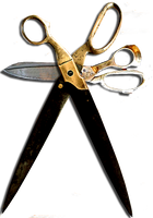 Steampunk Scissors Cut/Paste Icon by yereverluvinuncleber