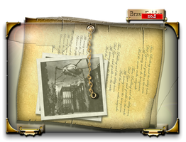 Steampunk Closed Document Folder Icon by yereverluvinuncleber