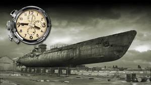 U-Boat Dual Time Clock Yahoo Widget Screenshot by yereverluvinuncleber